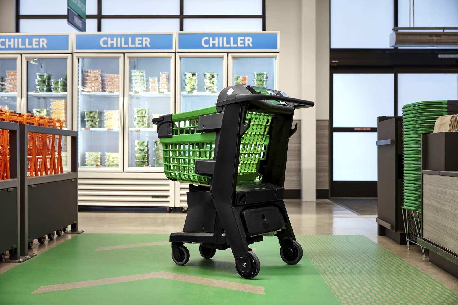 Amazon e il Dash Cart: il carrello del futuro