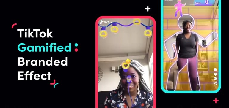 Gamified Branded Effect, l'ultima novità di TikTok