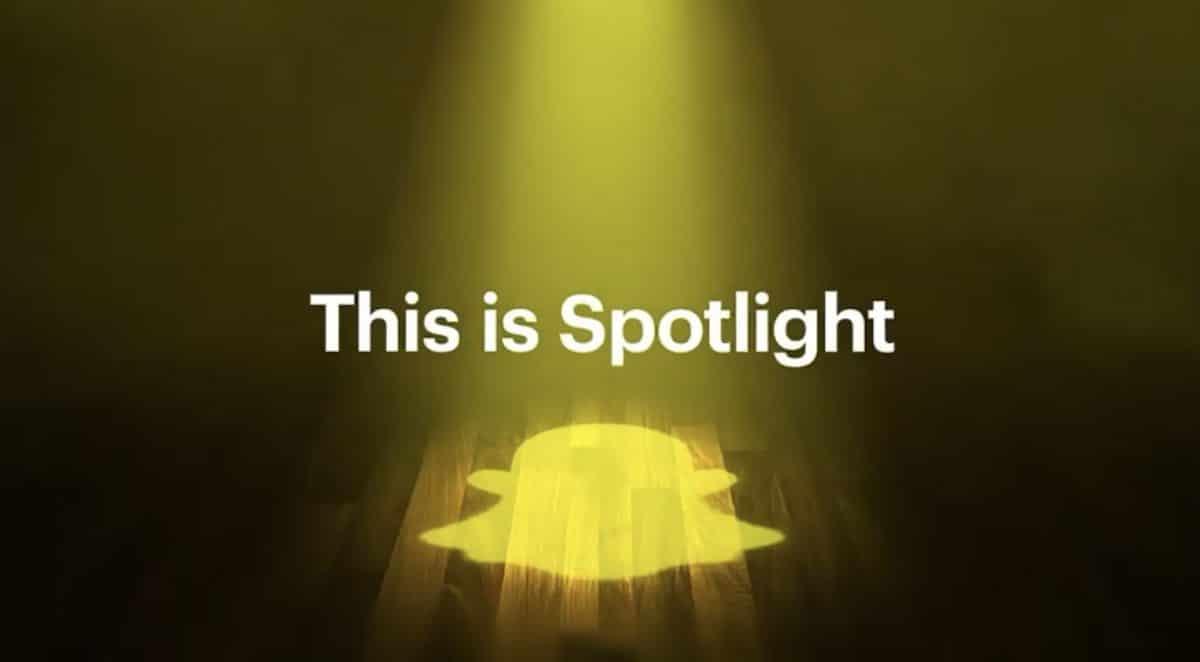 Spotlight di Snapchat