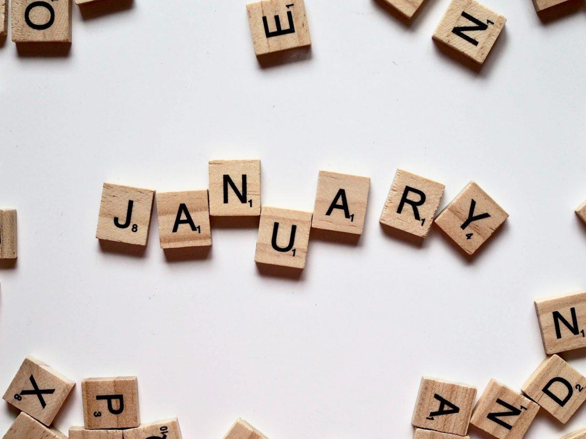 calendario social di gennaio