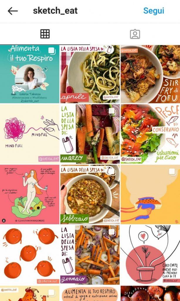Instagram feed di sketch_eat